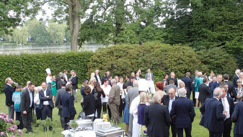 Garden Party im Anglo German Club
