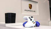Game Controller im Porsche Zentrum Hamburg