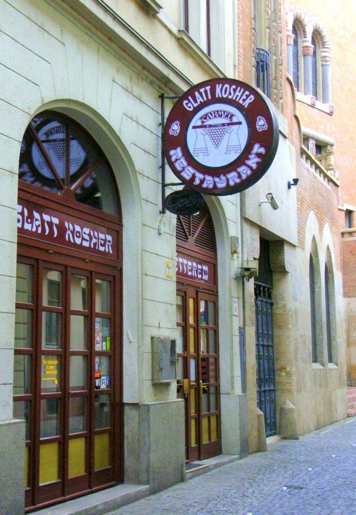 Ein jüdisches Restaurant