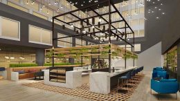 Der geplante Workspace im Crowne Plaza Hotel Hamburg