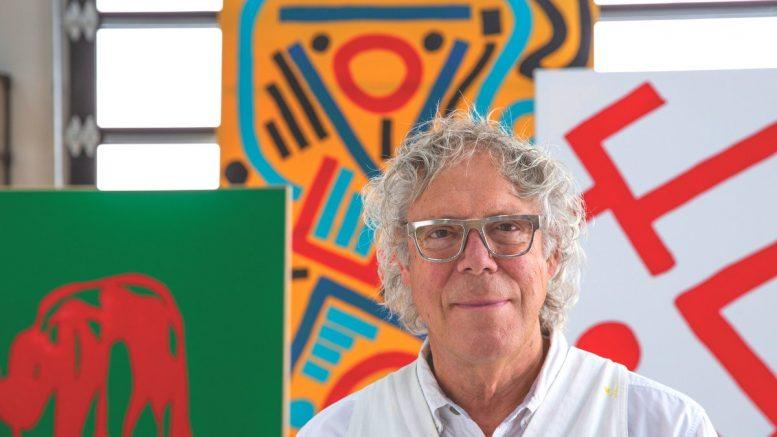 Der amerikanische Maler David Syre