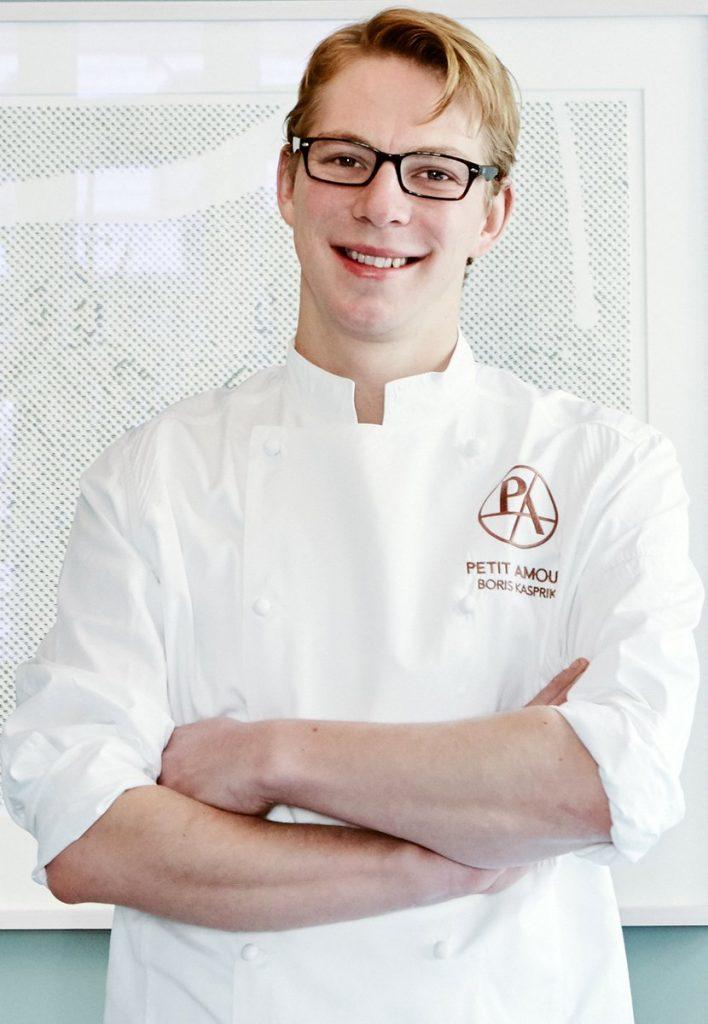 Der Hamburger Sternekoche Boris Kasprik