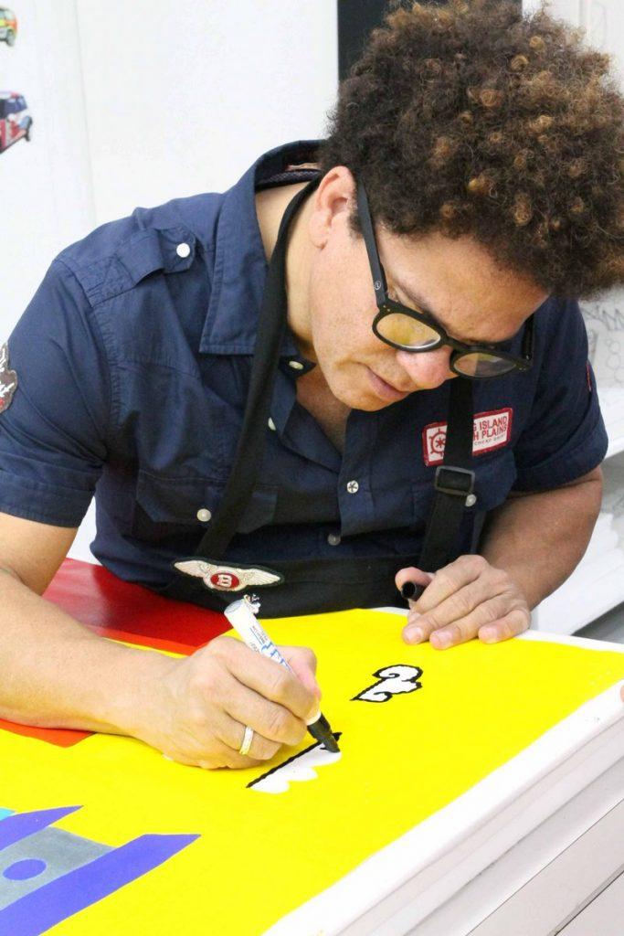 Der Künstler Romero Britto