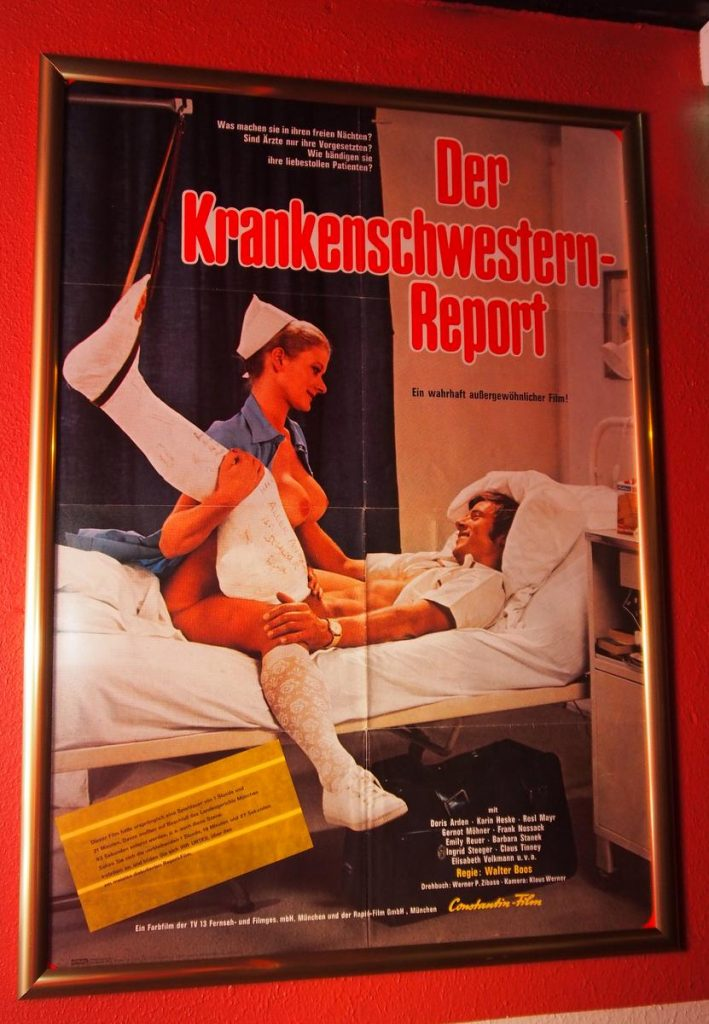 Filmplakat Krankenschwester Reprot