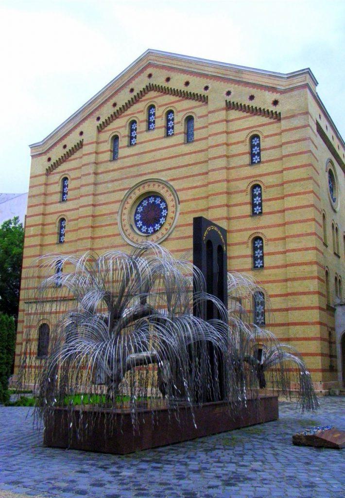 Eine Synagoge in Ungarn Außenansicht