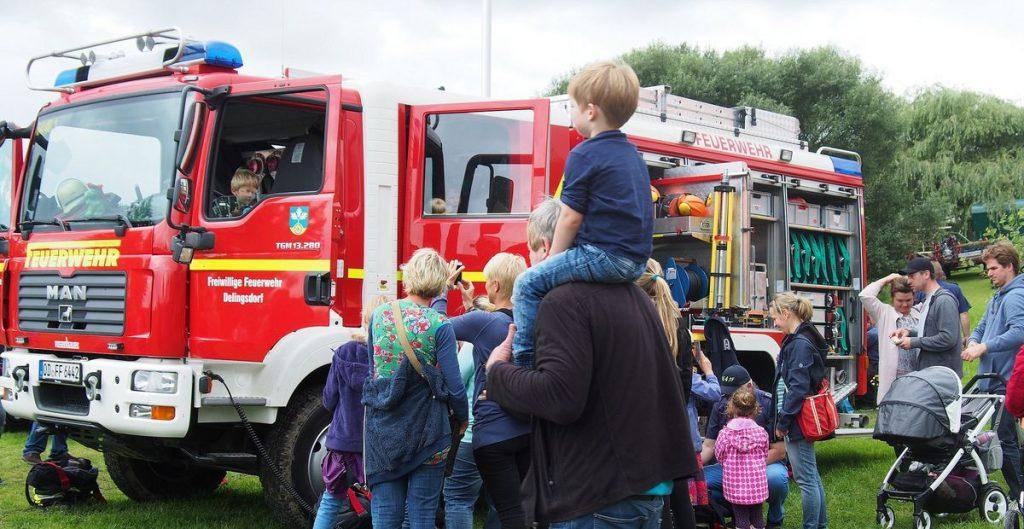 Die Freiwillige Feuerwehr Dellingsdorf stellt aus