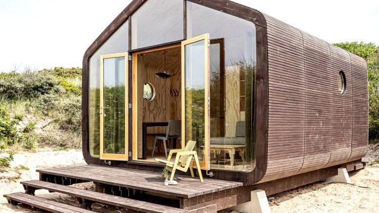 Tiny House als Ferienhaus auf der Helgoländer Düne Typ Tiny