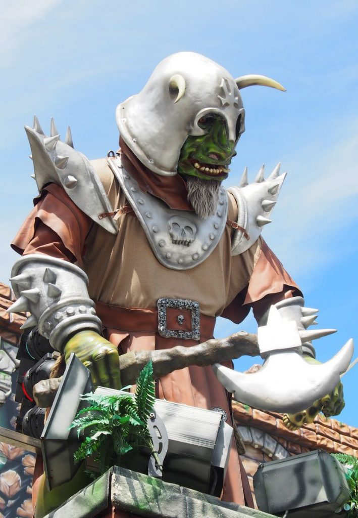 GEisterbahnfigur Ork-Krieger