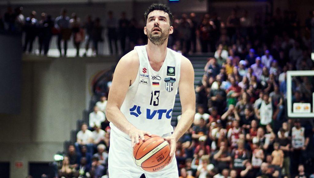 Der Basketballspieler Jannik Freese