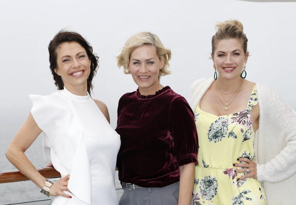 ana Pallaske, Gesine Cukrowski and Nina Bott