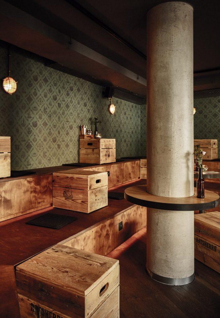 Innenansicht Ratsherrn Craft Beer Bar Hamburg Mühlenkamp