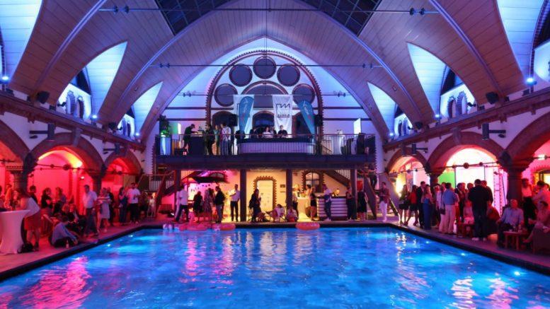 Das Solebad Kaifu in Hamburg beim Sommerfest 2019