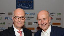 Dr. Peter Tschentscher und Wolfgang E. Buss, Gastgeber