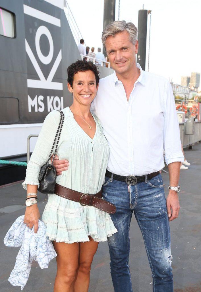 Melanie Knie-Wepler mit Steffen Knies