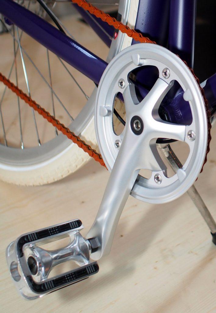 Radkurbel vom Nespresso Vélosophy RE:CYCLE Bike