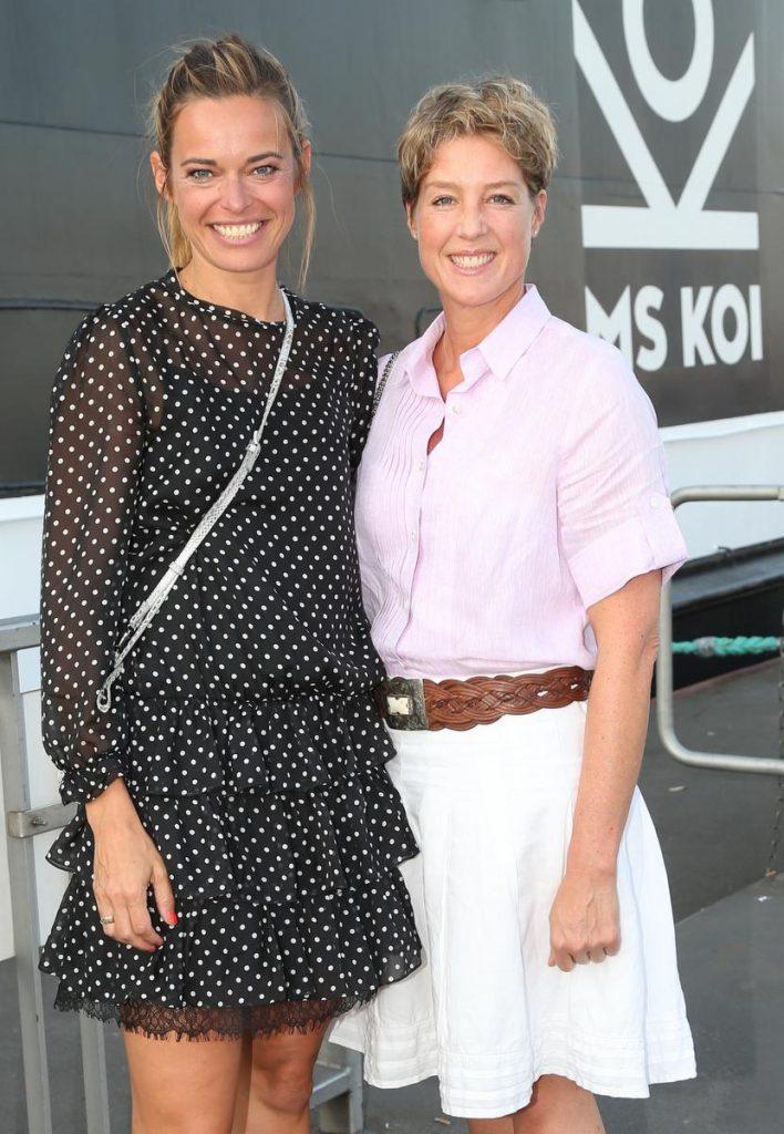 Susanne Böhm mit Christina Block