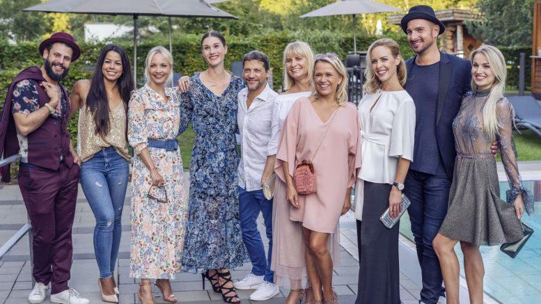 Gruppenaufnahme Aspria Sommerfest 2019