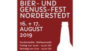Veranstaltungsplakat Auschnitt Bier- und Genuss-Fest Norderstedt 2019