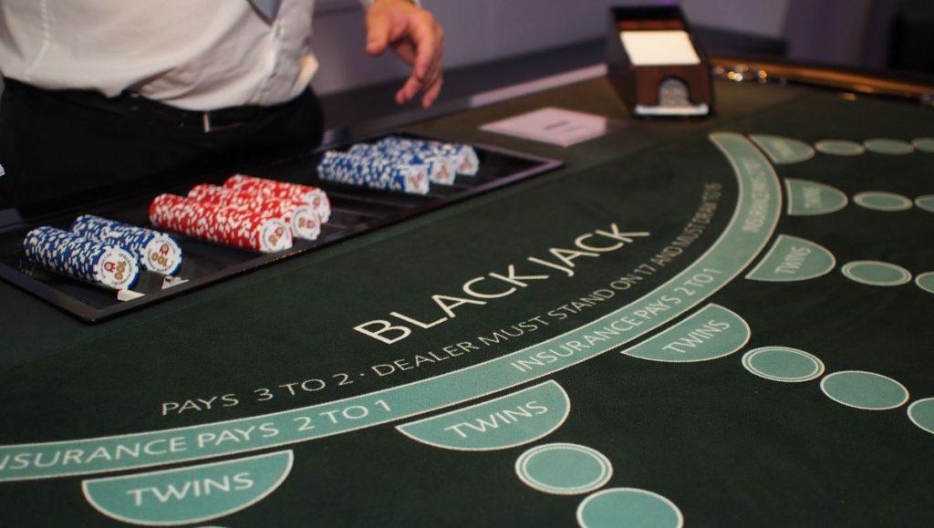 Blackjack Spieltisch