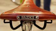 Lederfahrradsattel von Brooks