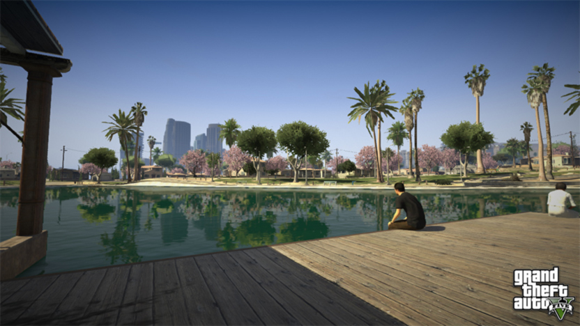 Screenshot GTA 5 Stadtpanorama