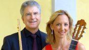 Die Musiker Johannes Hustedt undBarbara Lechner