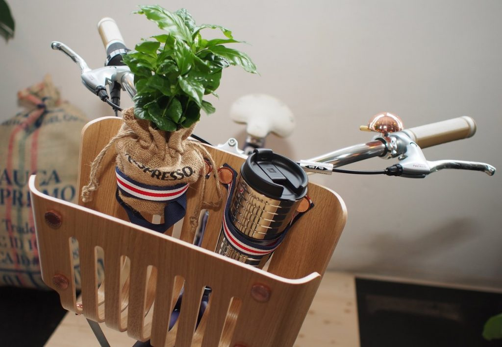 Korb vom Nespresso Vélosophy RE:CYCLE Bike