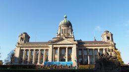 Ein Gerichtsgebäude in Hamburg