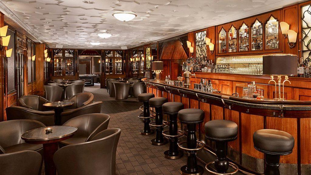 Die Bar 1910 im Hotel Reichshof Hamburg