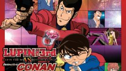 Anime - Filmplakat - Lupin III vs. Detektiv Conan
