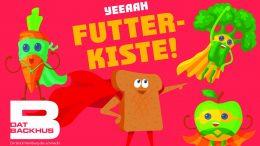 DAT BACKHUS Futterkisten-Plakat