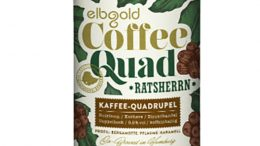 Coffee Quad Bier - Etikett