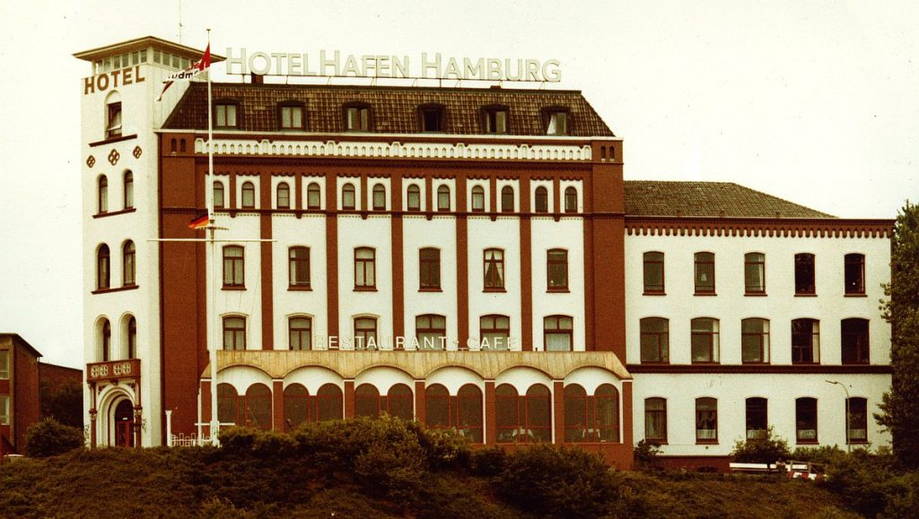 Hotel Hafen Hamburg im Jahr 1979