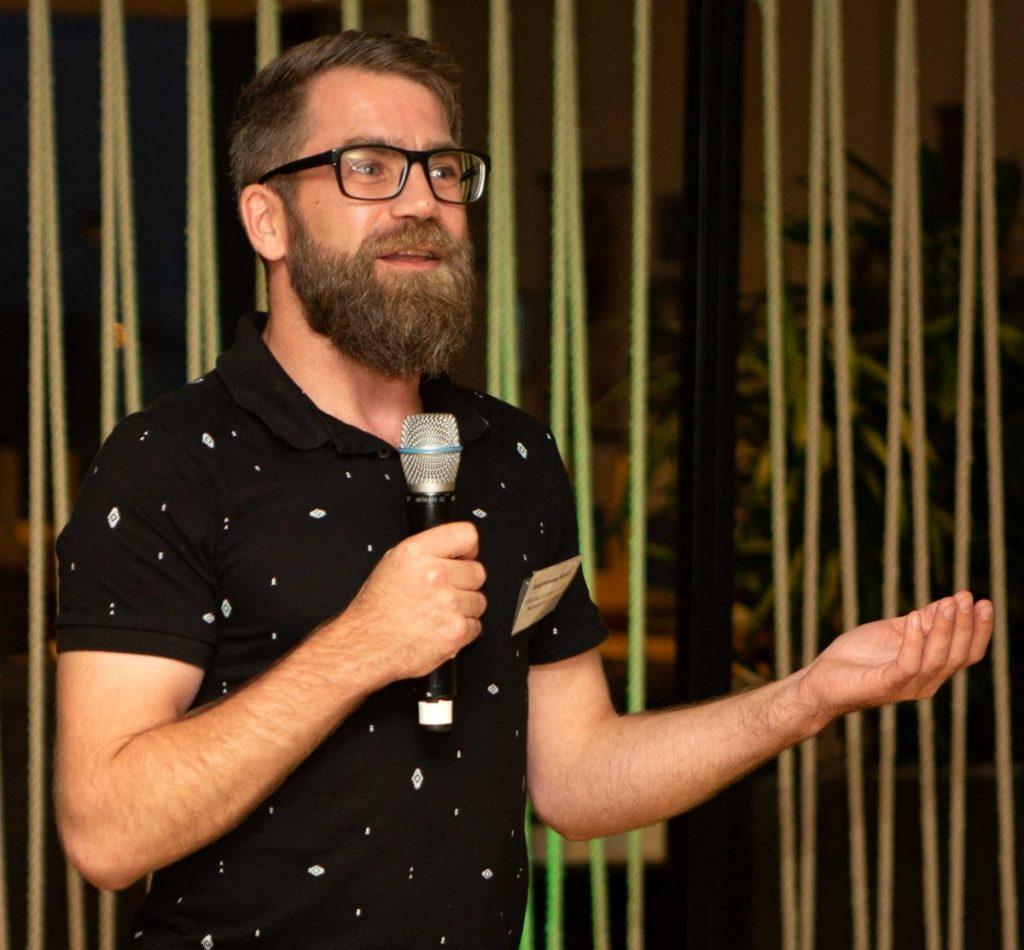 Markus Sauerhammer beim N Klub in Hamburg