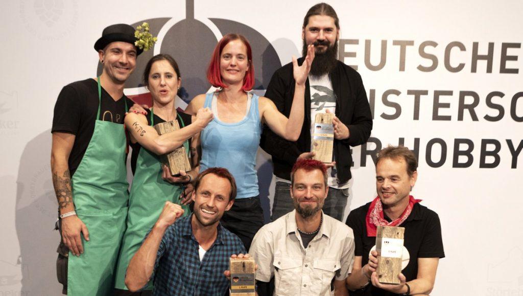 Offizielles Gewinnerfoto der 3. Deutschen Meisterschaft der Hobbybrauer