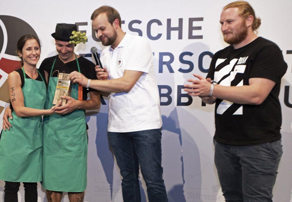Sieger beim Publikumspreis der Deutschen Meisterschaften im Hobbybrauen in Stralsund