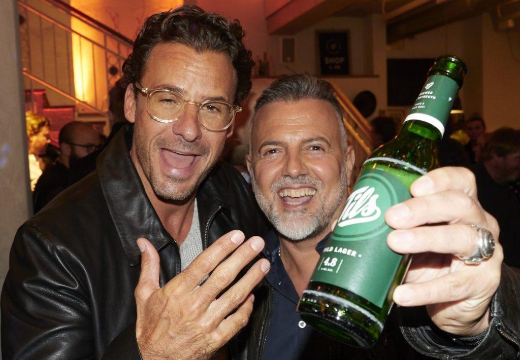 Stephan Luca mit Roberto Venturino
