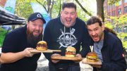 Die drei Gewinner der Kerrygold Cheesburger Challenge 2019