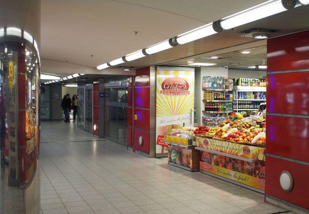 Der unirdischen Laden Alsterfruchthaus