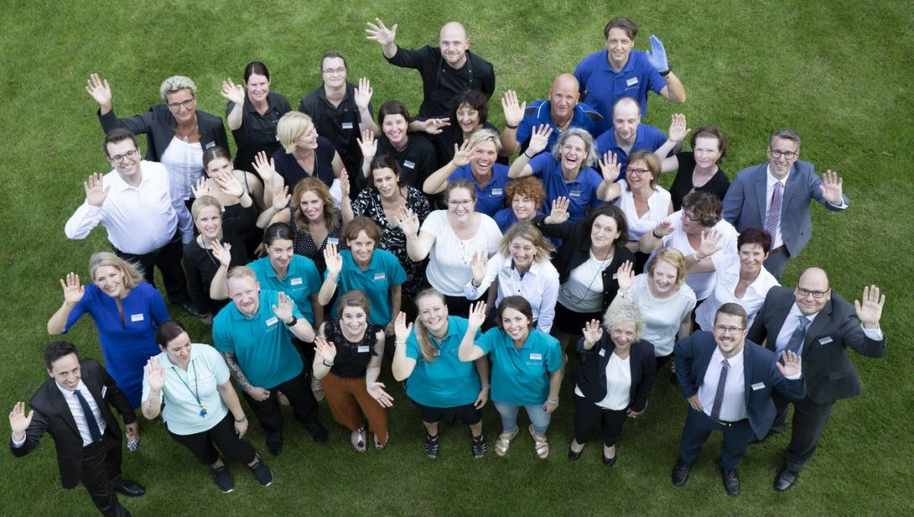 Teamfoto Klinik Blomenburg