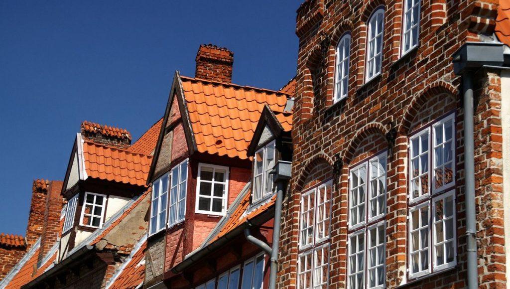 Fachwerkgiebel in Lübeck