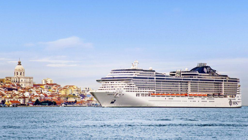 Das Kreuzfahrtschiff MSC Preziosa