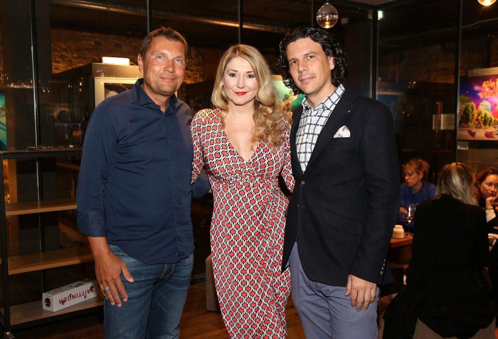 Stefan Ohde Iqos, Sandra Quadflieg, Johannes Leusch