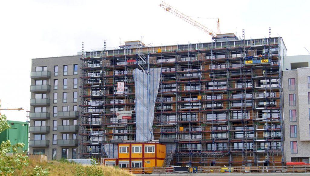 Neubau eines Wohnhauses in der HafenCity Hamburg