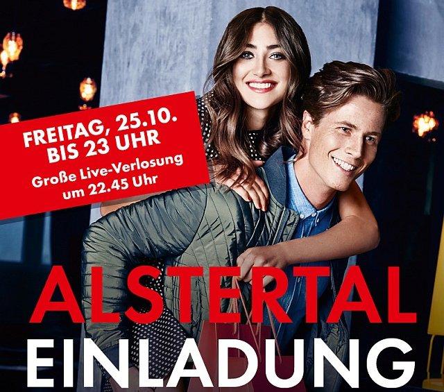 Plakat für 4. AEZ Late Night Shopping
