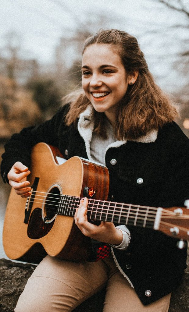 die Musikerin Allie Sherlock