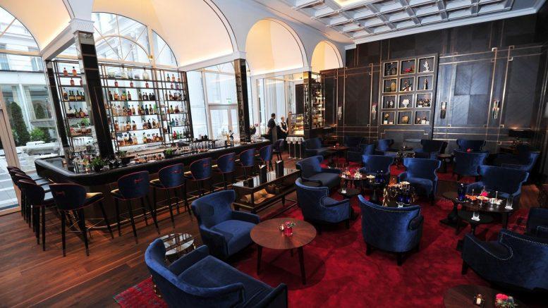 Blick in die Die neue Hotel Atlantic Bar