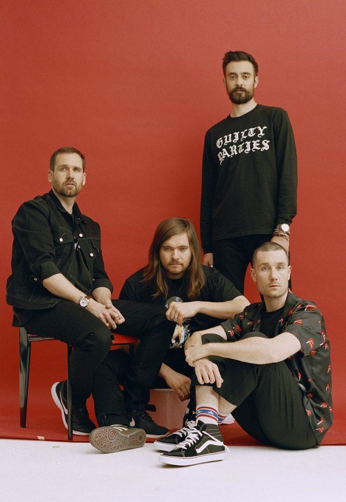 Bandfoto der Band Bastille