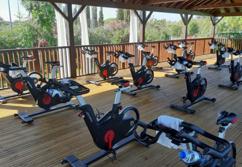 Freilauftraining im Robinson Club Quinta da Ria