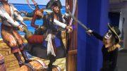Motiv Piratenkampf im Mindways 3D Trickart Museum
